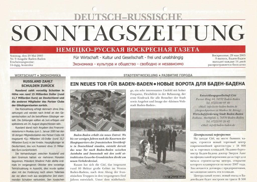 Deutsch-Russische Sonntagszeitung